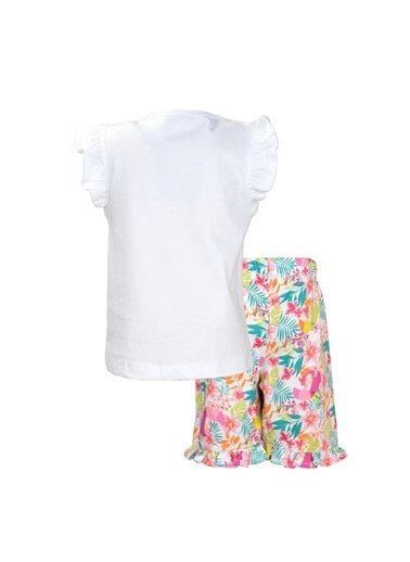 Zeyland Beyaz You Can şortlu Pijama Takımı (1-7yaş) Beyaz You Can şortlu Pijama Takımı (1-7yaş) Beyaz